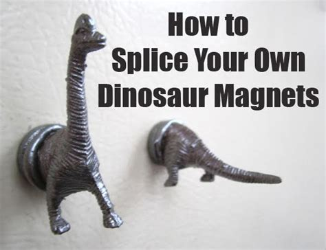 how to grow a dinosaur books how to splice your own dinosaur refrigerator magnets