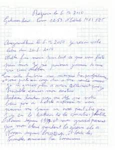 Exemple De Lettre Ecrite A Des Prisonnier Ren 233 Galinier Francaisdefrance S