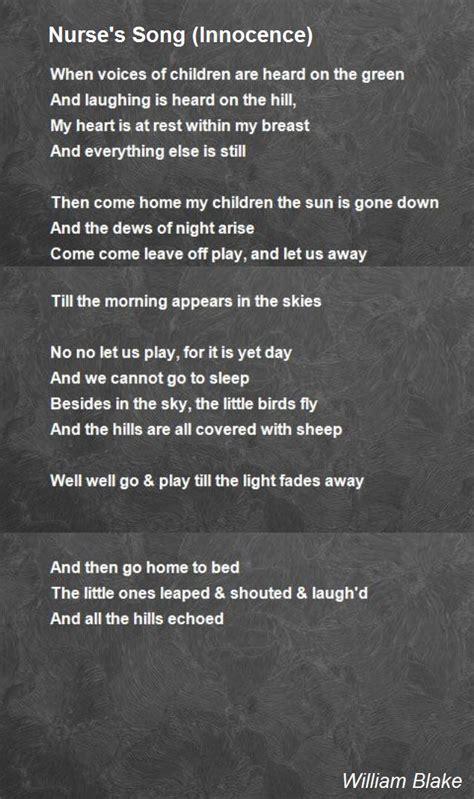 innocence testo s song innocence poem by william poem