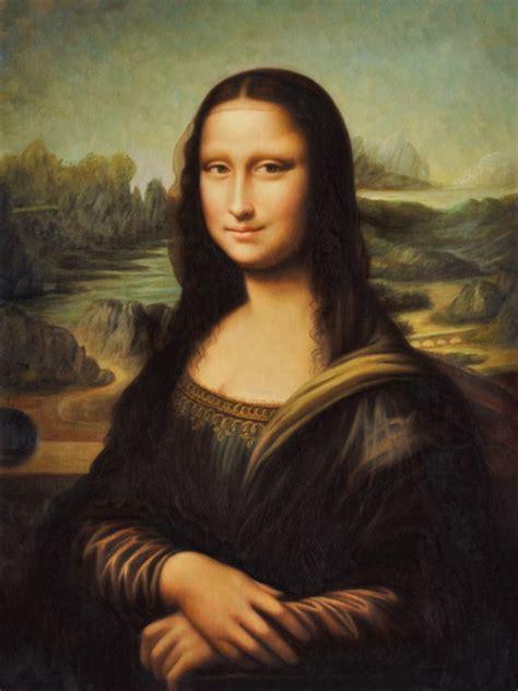 painting mona leonardo da vinci monna painting cm 45x60