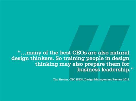 design thinking quote tim brown dmi membership value design management institute