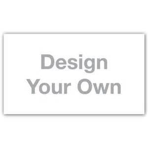 design your own business card design your own business cards customizable iprint