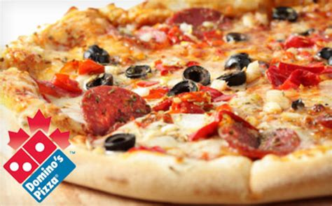domino pizza whitby 9 for any size pizza with unlimited of toppings from