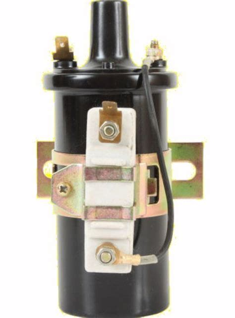 ignition coil with external resistor 189673m92 massey ferguson ignition coil w bracket external resistor 135 150 for sale