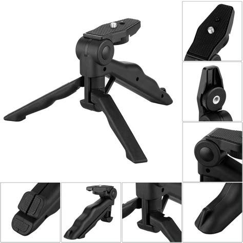 Tripod Foldable 2 In 1 Untuk Dslr by Tripod Mini Foldable 2 In 1 Untuk Dslr Black