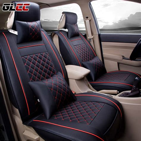 upholstery car seats cost aliexpress com buy 4colours pu leather car seat covers