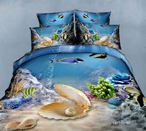 Tropical Themed Bedspreads - popular fish comforter sets buy cheap fish comforter sets lots from china fish comforter sets