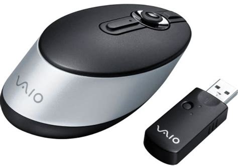 Mouse Wireless Sony sony vgp wms50 vaio wireless presentation mouse compatible