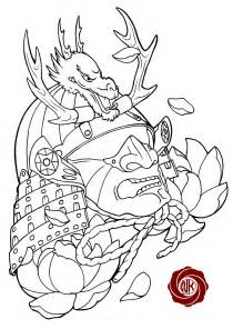 Outline In Color Masks Japanese by Barong Mask Sleeve Design Photo 5 Real Photo Pictures Images And Sketches Ideas