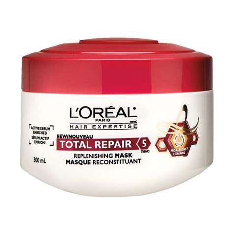 Harga Loreal Hair Mask jual l oreal total repair hair mask 200 ml