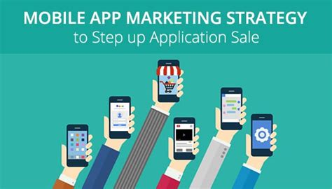 mobile application marketing mobile app marketing strategy to step up application sale