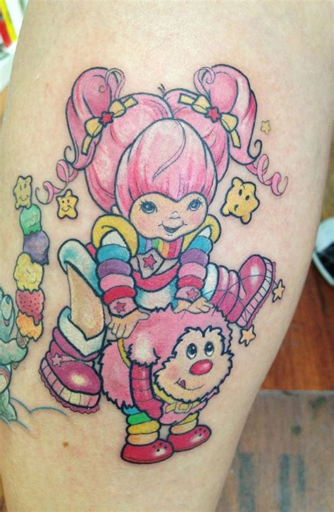 kawaii tattoo rainbow brite tattooideaslive rainbow