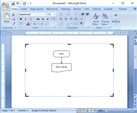 membuat hyperlink di word 2007 cara membuat flowchart di microsoft word 2007 anita s