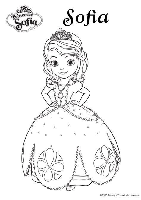 coloriage disney la princesse sofia