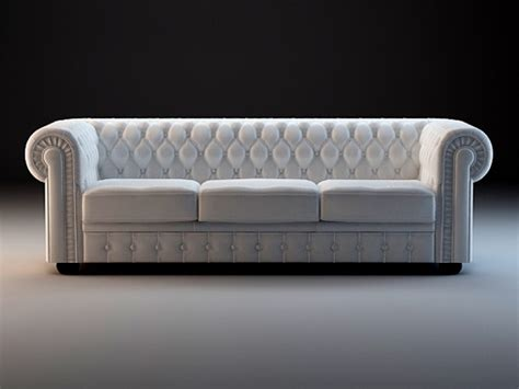 3d couch model chesterfield sofa set 3d model 3dsmax 3ds files free