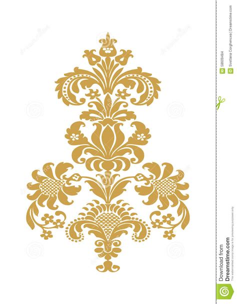 home design gold free vector abstract flower gold element design stock vector