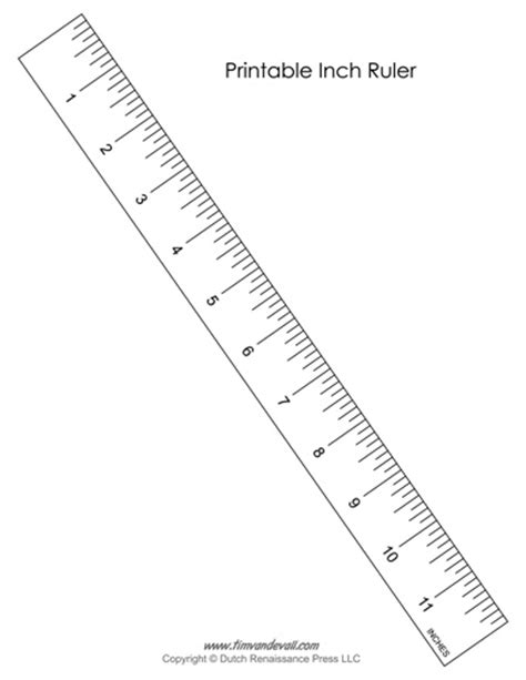 Printable Ruler Inches And Centimeters Actual Size