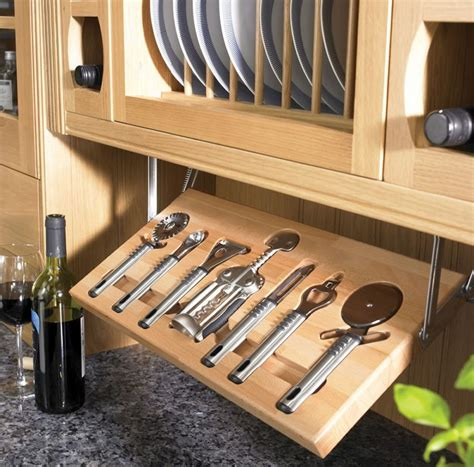 kitchen utensils storage cabinet 6 simple hanging storage solutions in the kitchen bonito