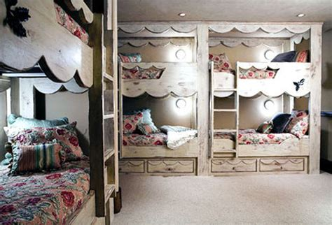 20 Amazing Bunk Beds Shabby Chic Bunk Beds