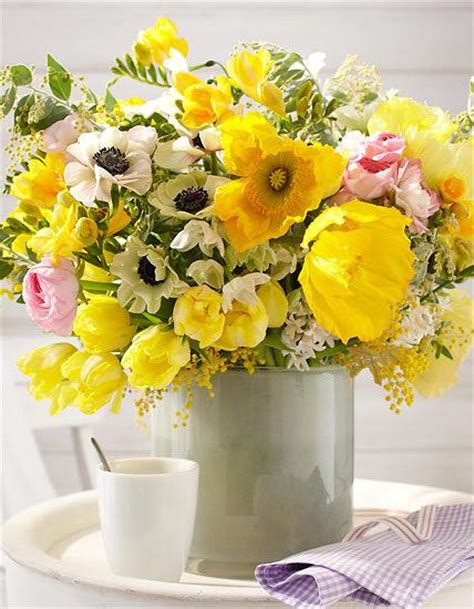 Vase Decoration by Blumenstrau 223 Mit Tulpen Bild 8 Living At Home