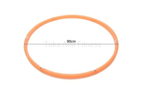 Best Seller Hula Hoop Diameter 90cm Orange 24113 adjustable hula hoop limpid 90 cm toko alat fitness