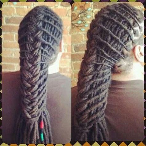 pushback braids plainting styles 101 ways to style your dreadlocks art becomes you loc