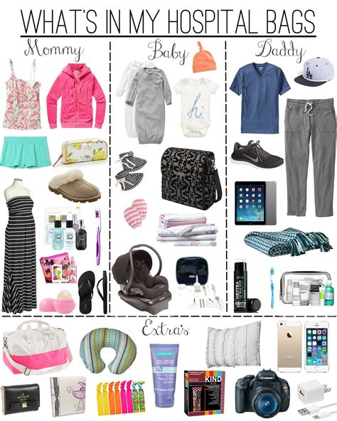 what to pack in hospital bag for c section confetti babe what was in my hospital bag s