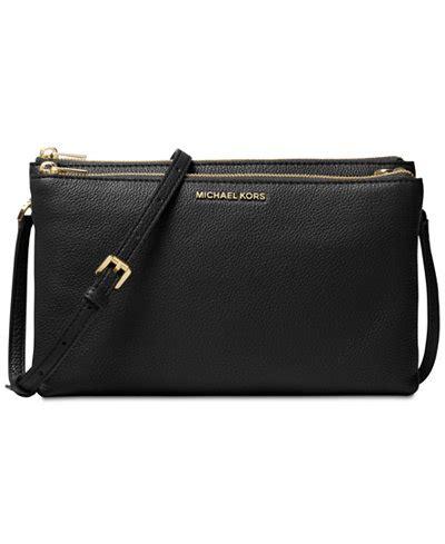 Dompet Clutch Michael Kors Mk Flap Carry Card Wallet Admiral Navy michael michael kors adele zip crossbody handbags
