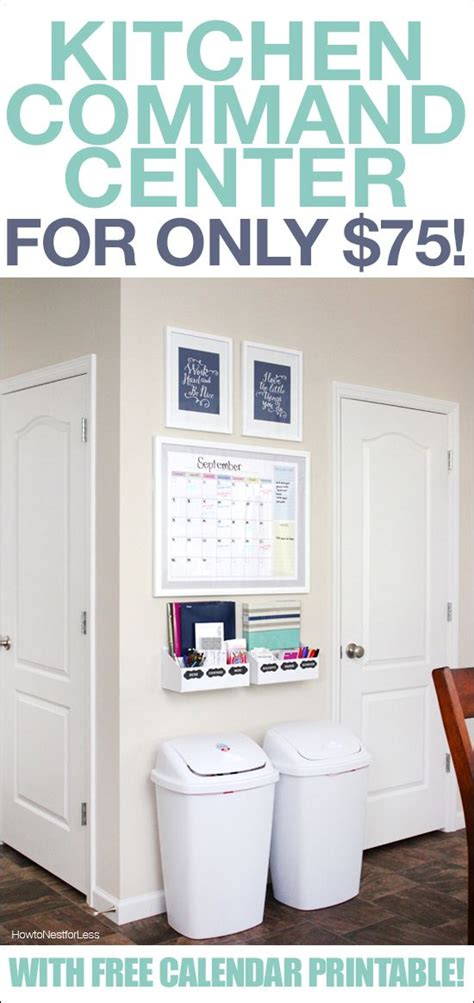 printable kitchen calendar shelf ideas creative thinking and kitchens on pinterest