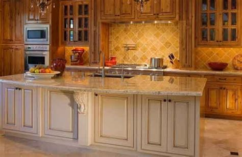 knotty alder kitchen home