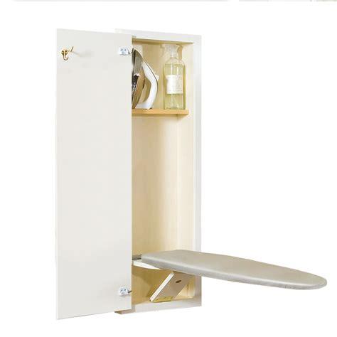wall mounted ironing board shop style selections wall mount hideaway ironing board at