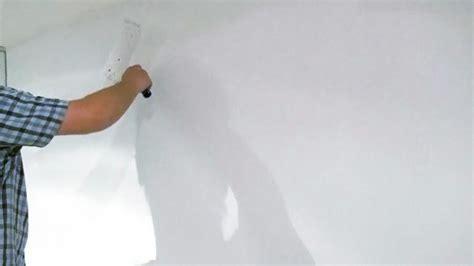 Wasserschaden Wand Was Tun by Spachteln Und Streichen Nach Einem Wasserschaden