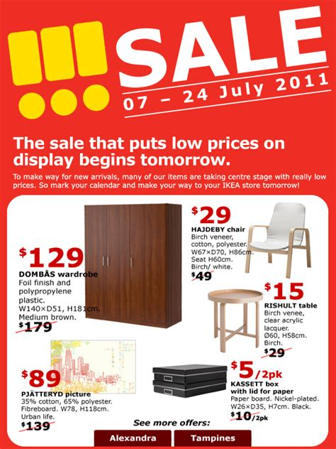 ikea new year sale ikea sale great deals singapore