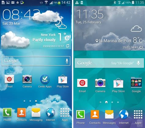 new touchwiz vs touchwiz what changed with samsung s