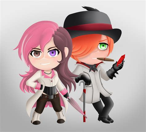 Fashin Neo rwby chibi style neo and by lobbyrinth on deviantart