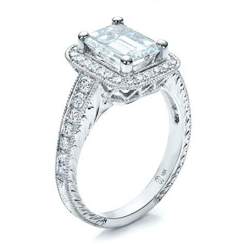best emerald cut engagement rings best emerald cut