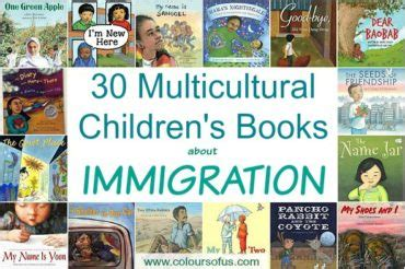 immigration picture books colours of us