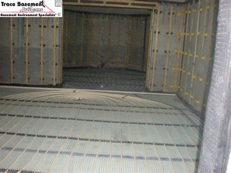Drained Protection Waterproofing, Under Floor Heating
