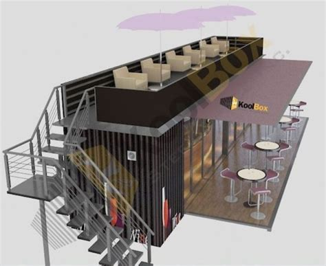 interior design container cafe minimalist cafe with a 20 feet container concept