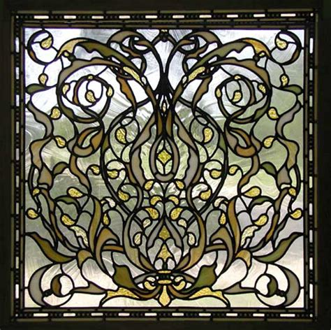 glass designs spokane victorian style leaded stained glass window custom