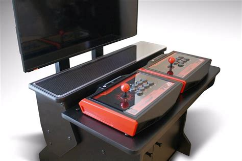 pedestal arcade xtension sit down pedestal arcade cabinet for fight sticks
