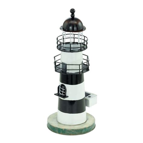 Eglo Solar Led White And Blue Outdoor Lighthouse Light Lighthouse Solar Light
