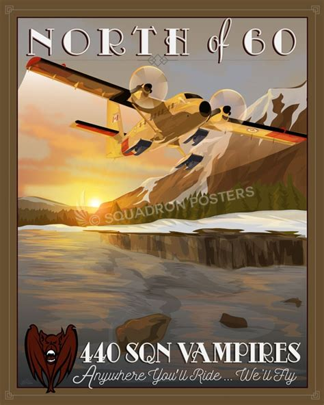 rcaf  transport squadron cc  twin otter squadron posters