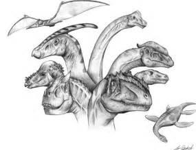 various dinosaur profiles art sketches pinterest