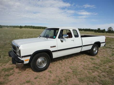 sell used 1993 dodge ram 2500 in north stratford new hshire united states for us 7 000 00 sell used 1993 dodge ram 2500 cummins turbo diesel extra cab banks 2 owner low miles in colorado
