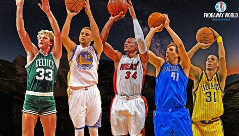 best shooter ranking the top 10 greatest shooters in nba history