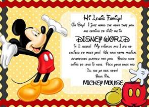 disney letter template an easy way to your with a disney vacation