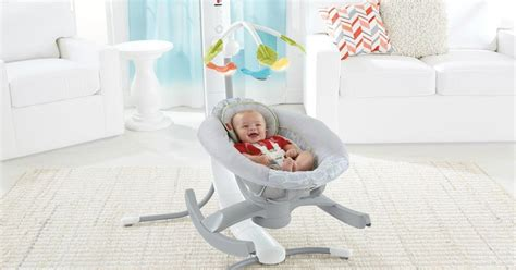 4 in 1 baby swing baby einstein you can control this smart baby rocker from