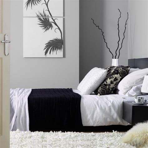 Bedroom Decorating Ideas Black White Silver 20 Dormitorios Decorados Con Gris