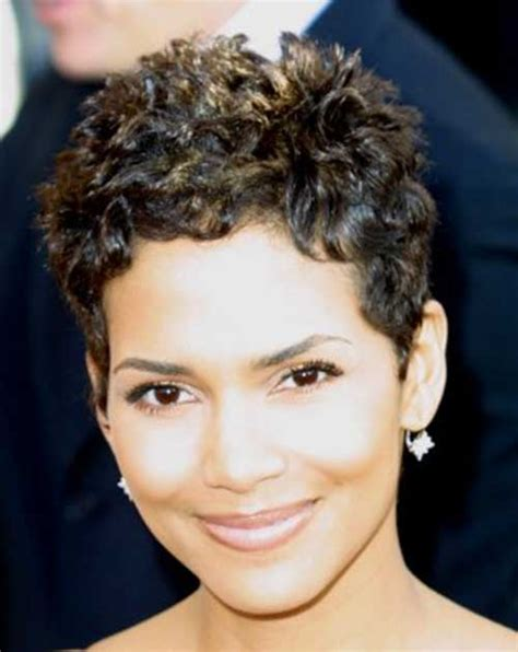 Halle Berry Pixie Cuts   Short Hairstyles 2017   2018   Most Popular Short Hairstyles for 2017